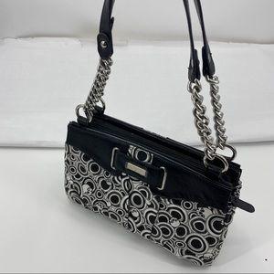 Miche skull print shell and interior purse